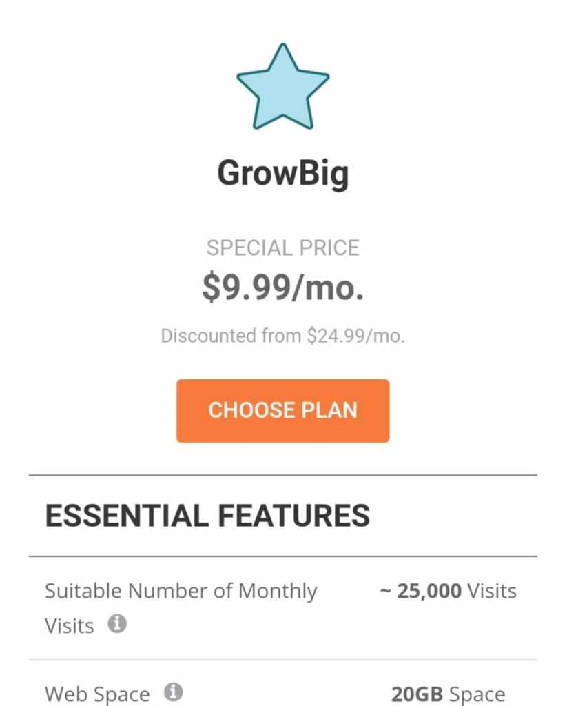 Grow Big Plan