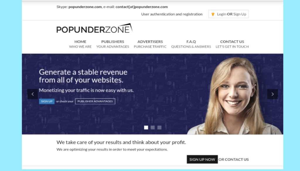 Popunderzone Review