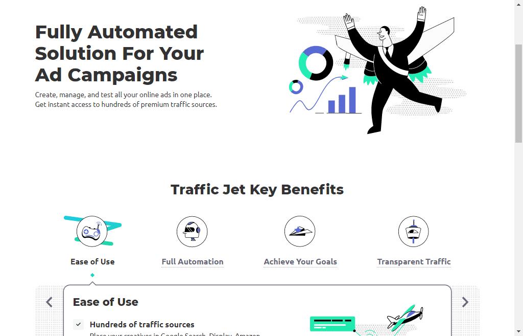 TrafficJet overview a Semrsuh Product