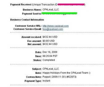 cpalead payment proof