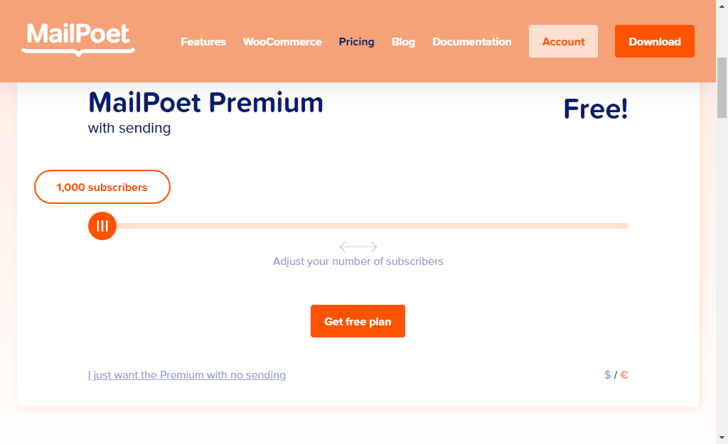 mailpoet review without sending