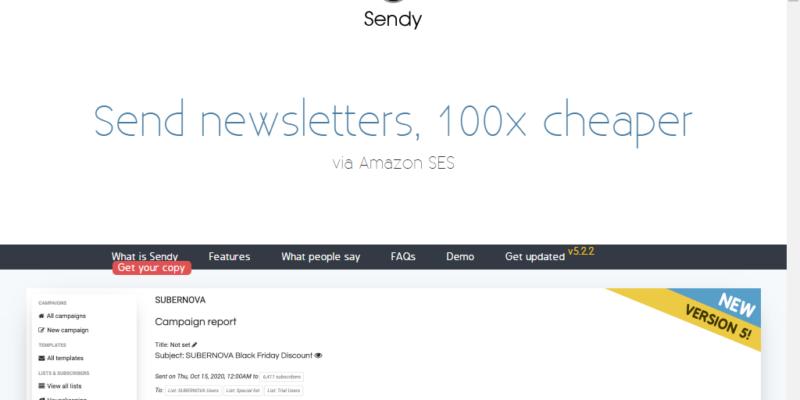 sendy review