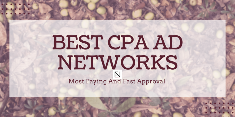 Best CPA Ad Network