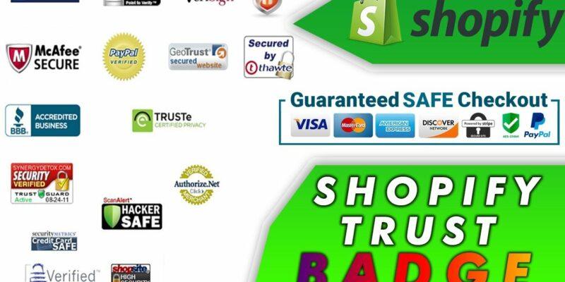 Shopify trust badge