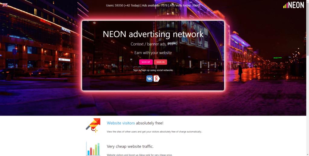 neon high paying ptc sites