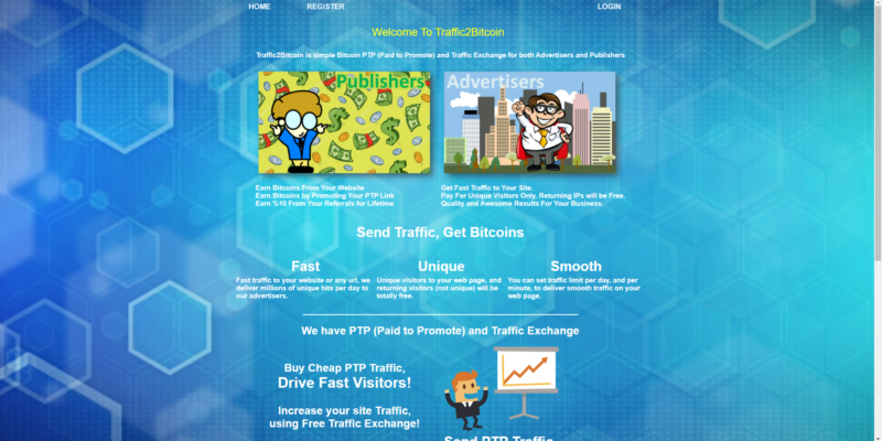 paid to promote website - ptp site